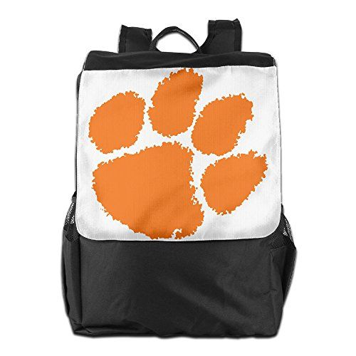 LHLKF Clemson University Tiger Paw Logo Fashion Outdoor Bag Storage Bag One  Size    Click