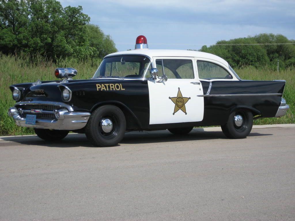 police cars Vintage