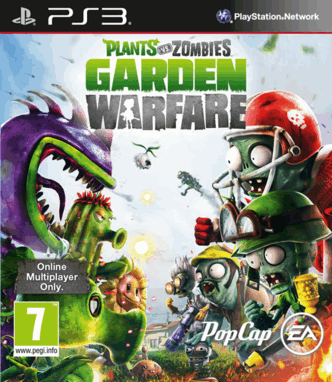 In this local cooperative mode, two players will team up as plants