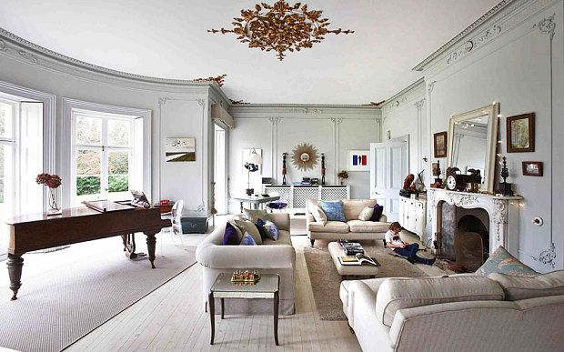 A Radically Revamped Georgian Country House Country House