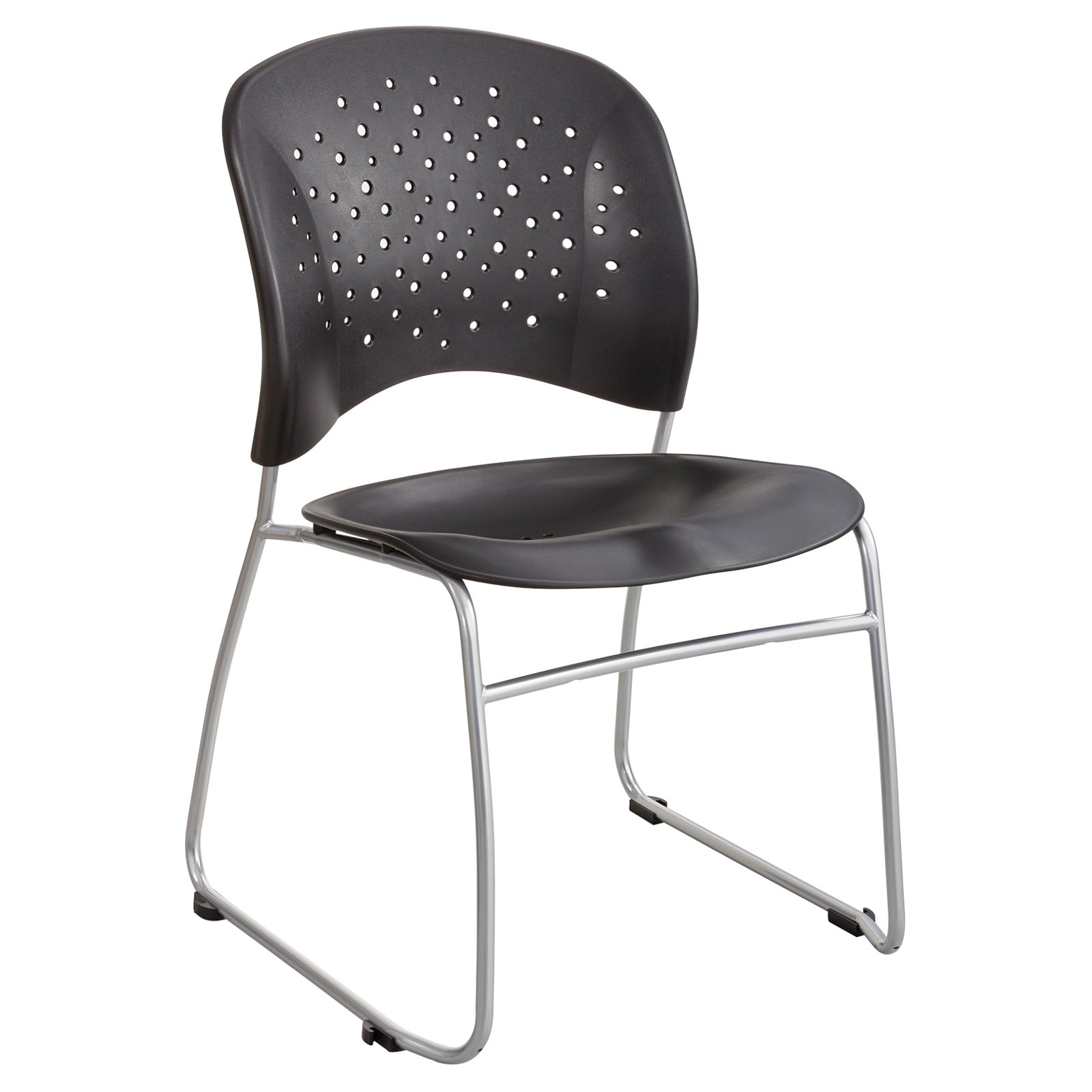 Tremendous Safco Reve Guest Chair Sled Base With Round Back Set Of 2 Uwap Interior Chair Design Uwaporg