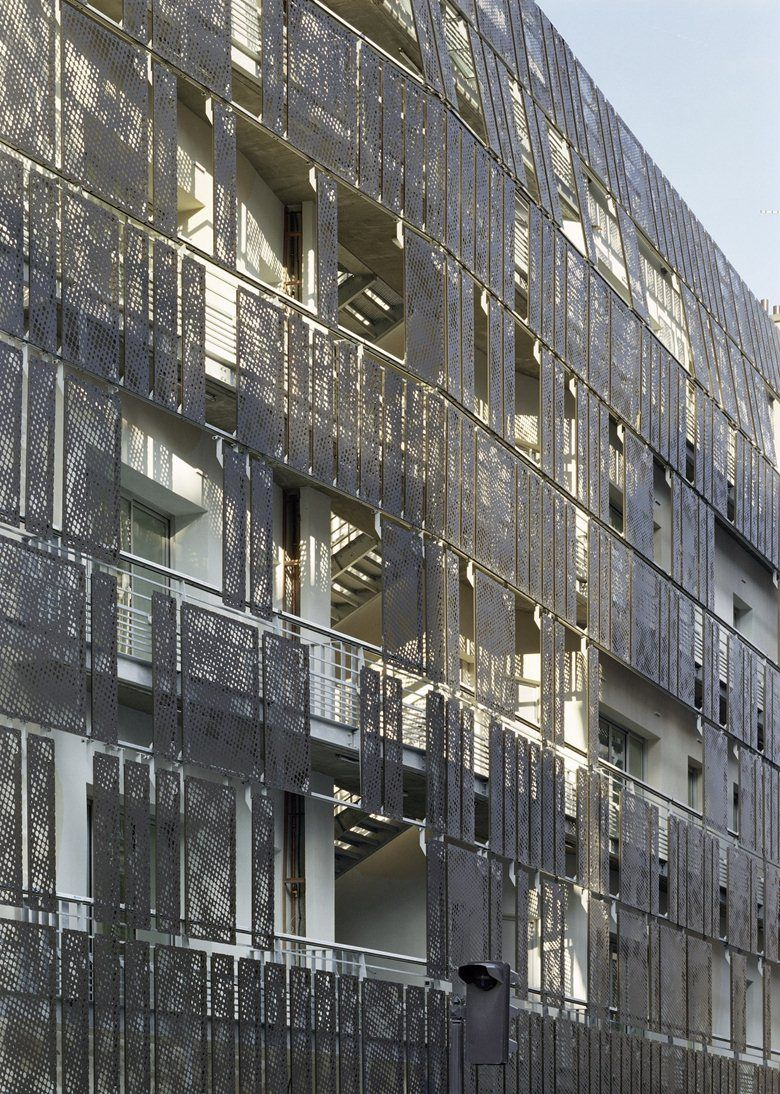 Social Housing, 1 Rue De Turenne, Paris, 2009 - Chartier-Corbasson ...