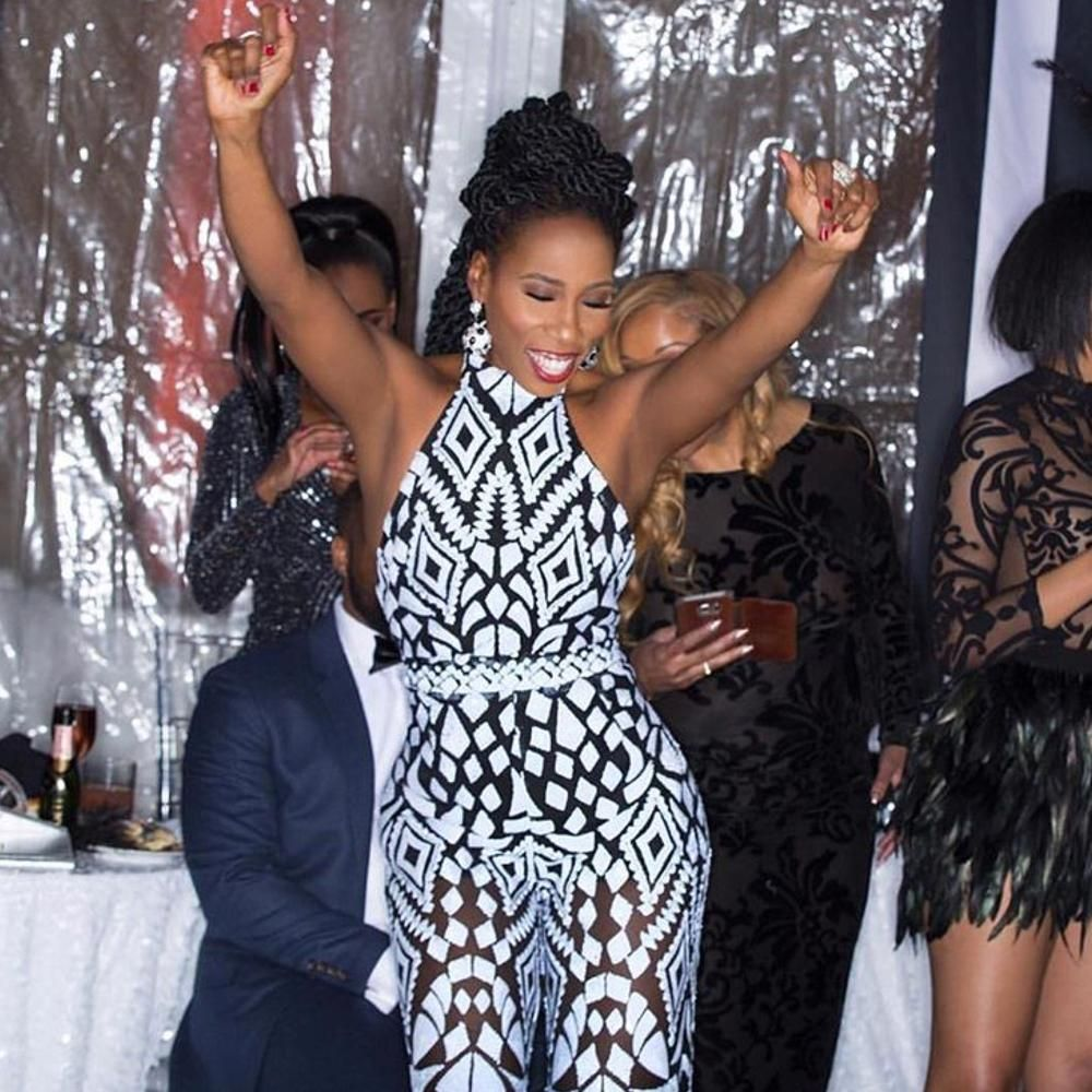See Photos from Steve & Majorie Harvey's New Year's Eve