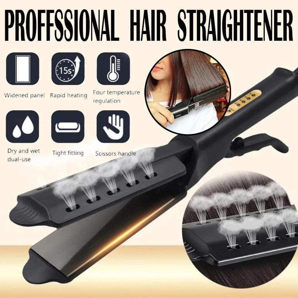 Prostyle Hair Straightener Ceramic Tourmaline Eu Ceramic Hair Prostyle In 2020 Flat Iron Hair Styles Hair Straighteners Flat Irons Professional Hair Straightener