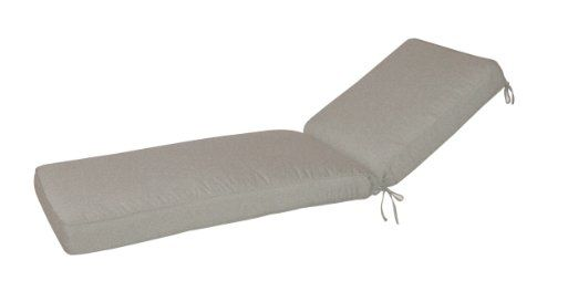 Paradise Cushions Wd05cc Chaise Cushion With Box Double Welt