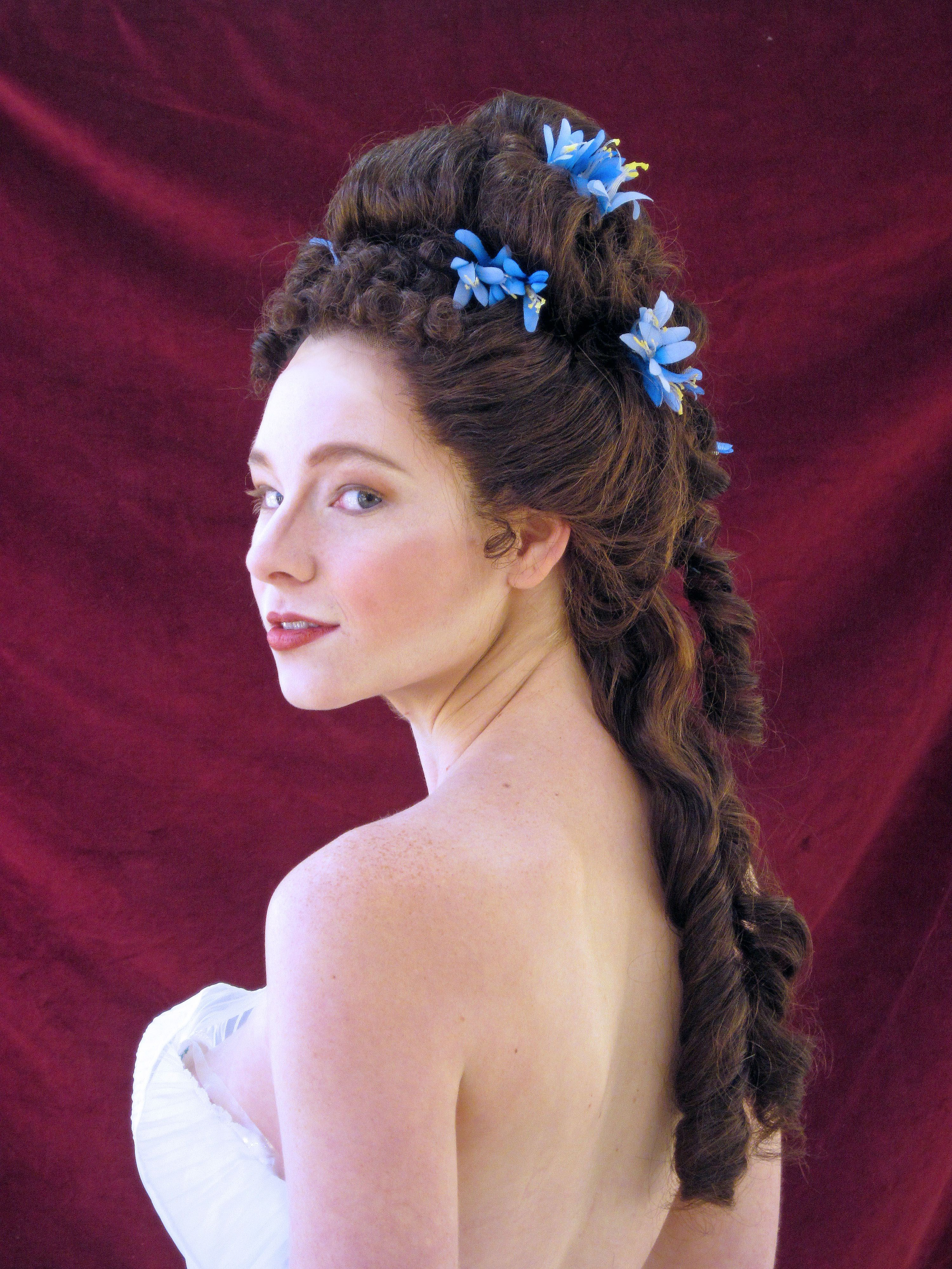 Maur 1870s/80s   Victorian hairstyles, Historical ...
