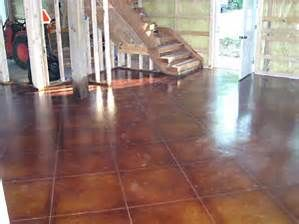 Tampa Poured Cement Floor Stained Bing Images