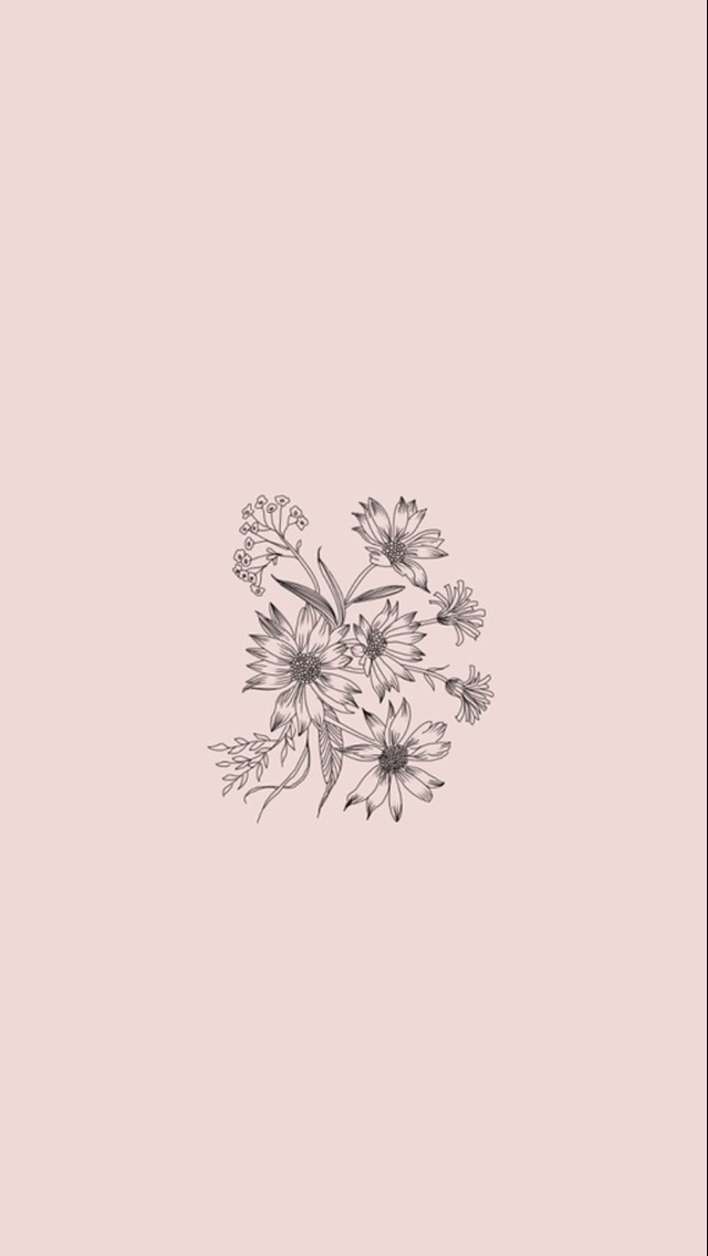 flowers lockscreen