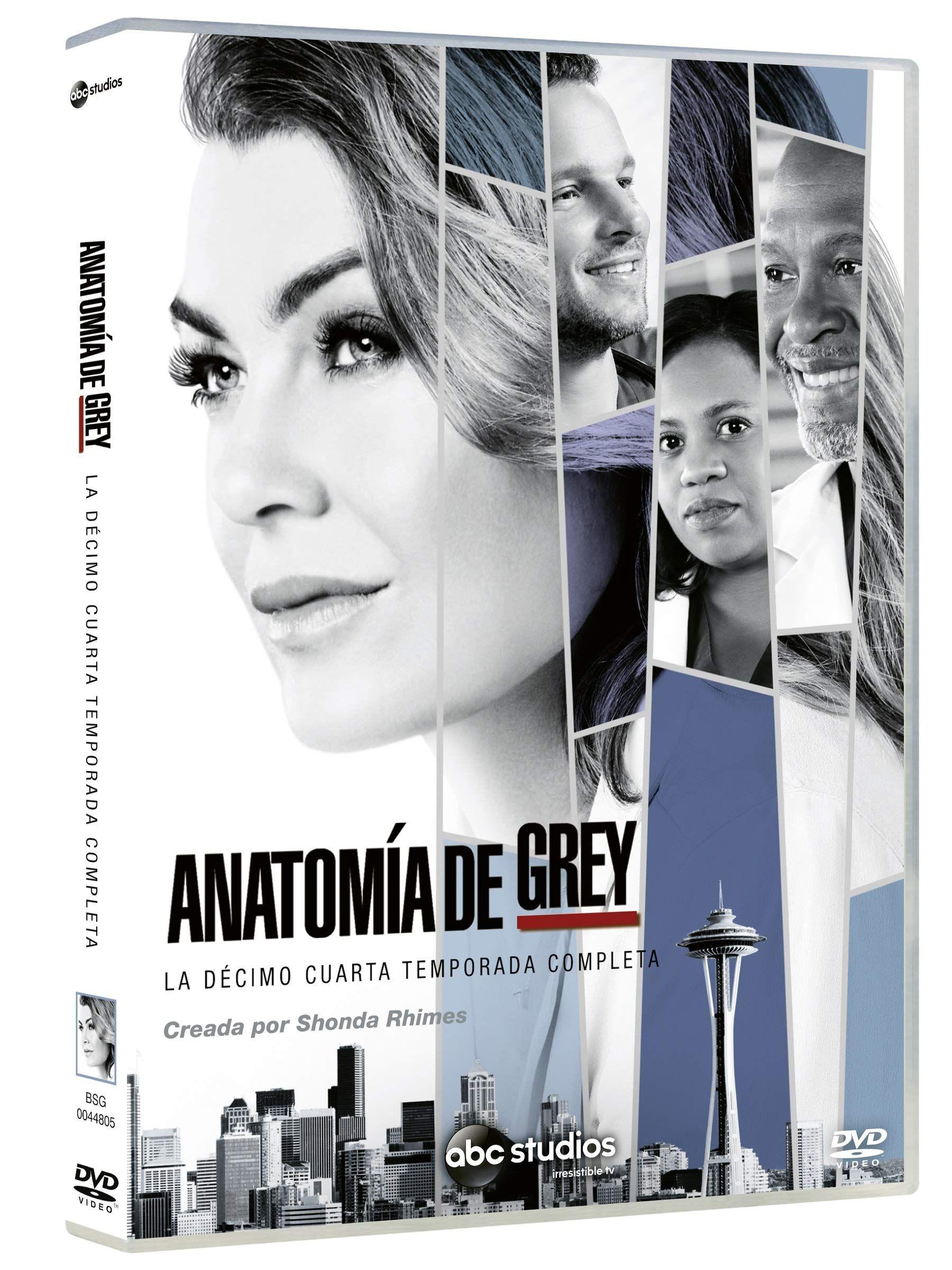 Anatomia De Grey. La Decimo Cuarta Temporada Completa DVD #Grey, #La ...