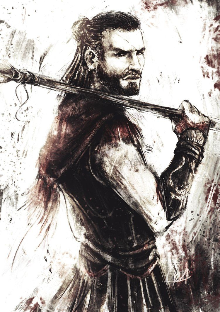 Alexios By Menekah Assassins Creed Artwork Assassin S Creed
