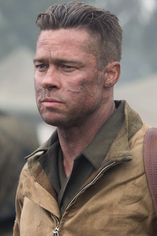 4 Reasons Fury Is A Must See Besides Brad Pitt Frisuren Und Barte