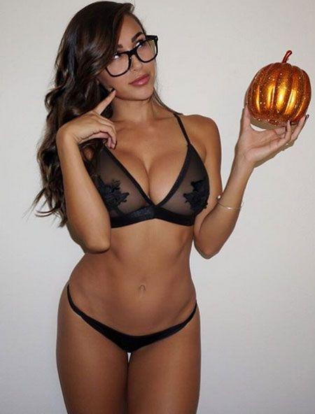 Beautiful black naked woman