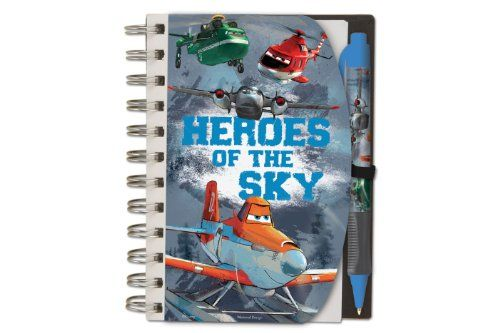 National Design Disney Planes Deluxe Hardcover 4 x 6 Notebook and Pen Set >>> For more information, visit image link.