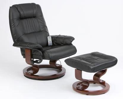 Napoli Heat and Massage Recliner Chair (Black): Amazon.co.uk