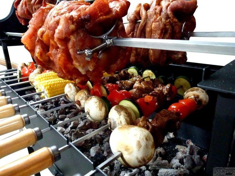 15 Skewer Cyprus Grill Hire Souvlaki Grill Grill Charcoal