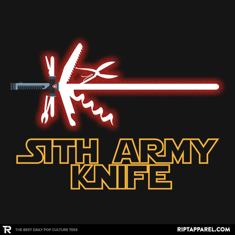 Sith Army Knife Shirt A T Shirt For Men Woman Kids