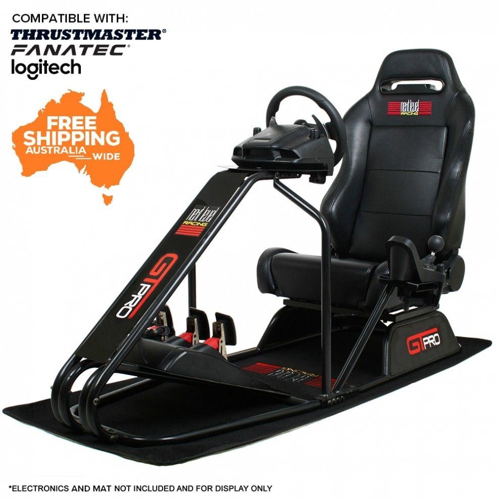 Next level gtpro v2 racing simulator cockpit chair