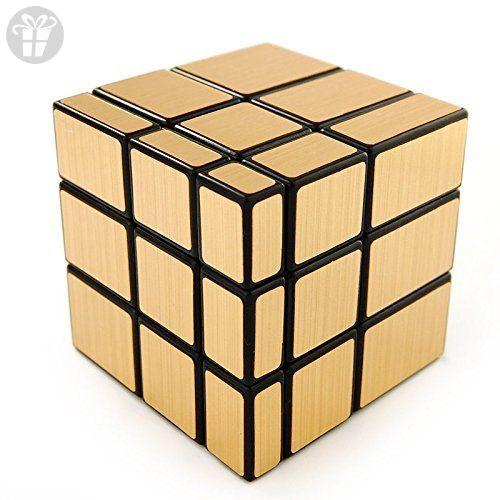 Shengshou 3 X 3 Gold Mirror Cube Puzzle Amazon Partner Link Cube Puzzle Cube Gold Mirror