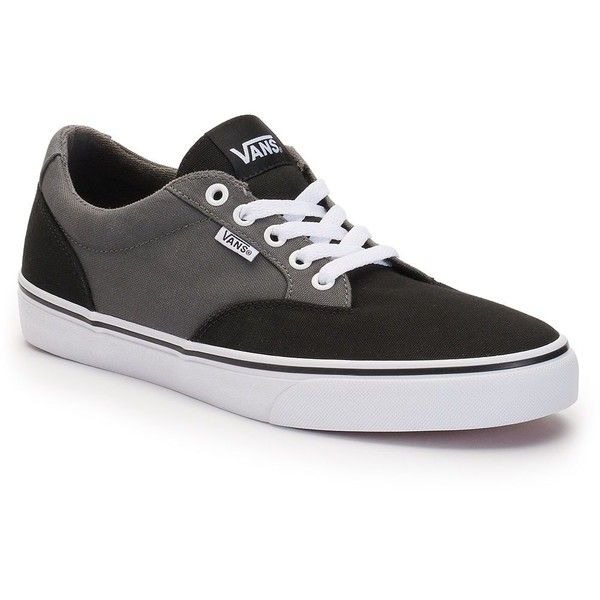 8037bfb6e6 Vans Winston Men s Skate Shoes ( 50) ❤ liked on Polyvore featuring men s  fashion