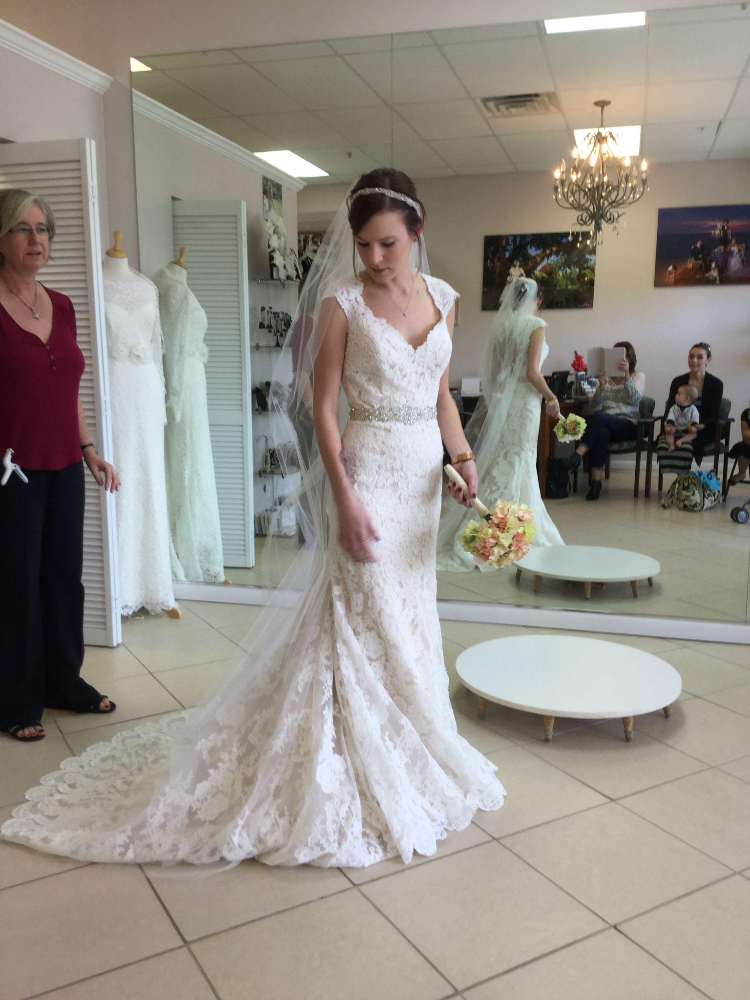 My allure dress bridetobe