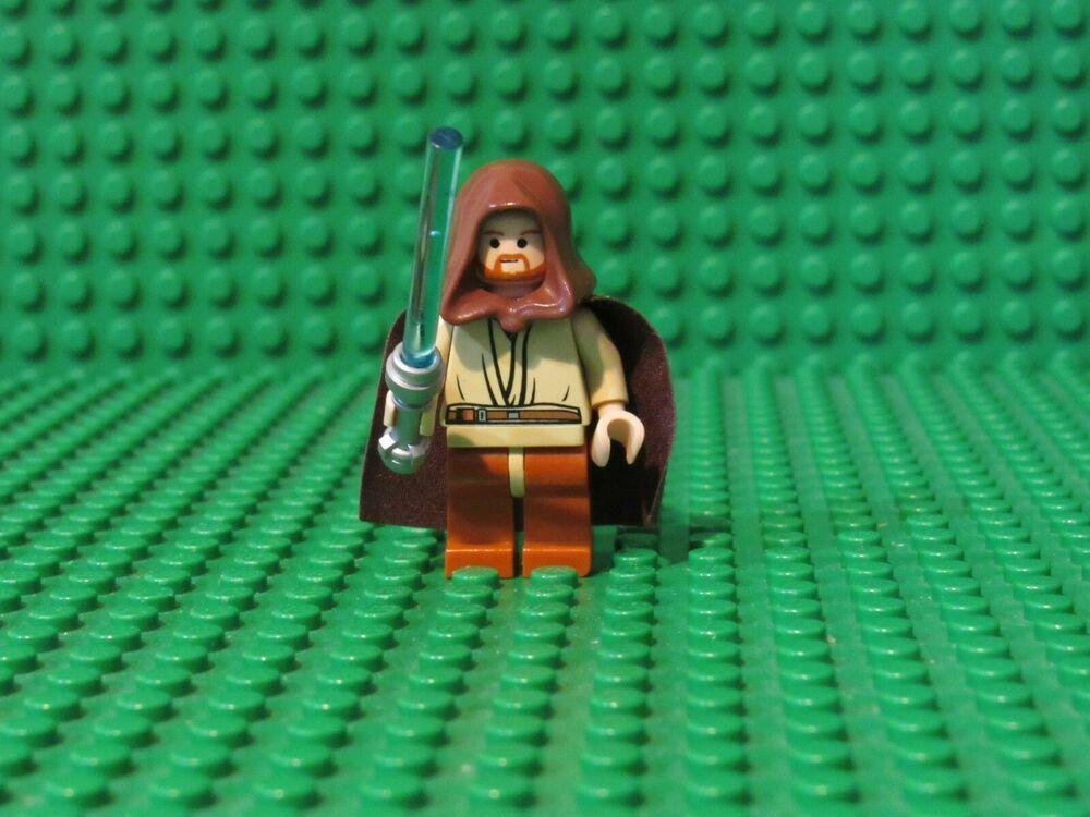 LEGO STAR WARS 7661 Obi-Wan Kenobi Minifigure New