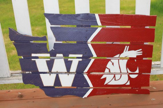 Husky Is The Boss Reclaimed Pallet Wood Sign USA Made