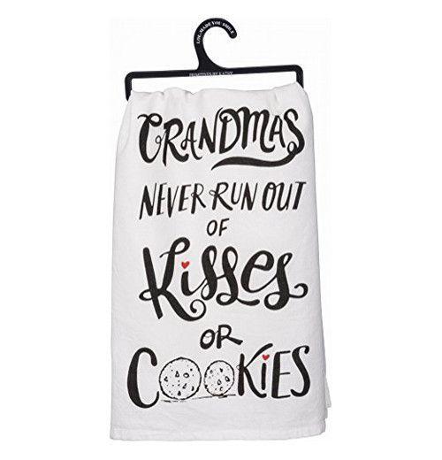 """Dish Towel """"Kisses or Cookies"""""""