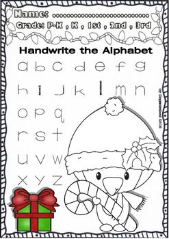 Christmas Funny Worksheets for ELA centers (Pre-K/1st Grade ...