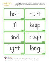 Kindergarten Worksheets Dolch Sight Words Flashcards 3rd Grade 3