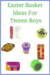 Easter basket ideas for tween boys basket ideas easter baskets easter basket ideas for tween boys negle Choice Image