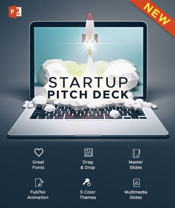 startup pitch deck powerpoint presentation | presentation, Powerpoint templates