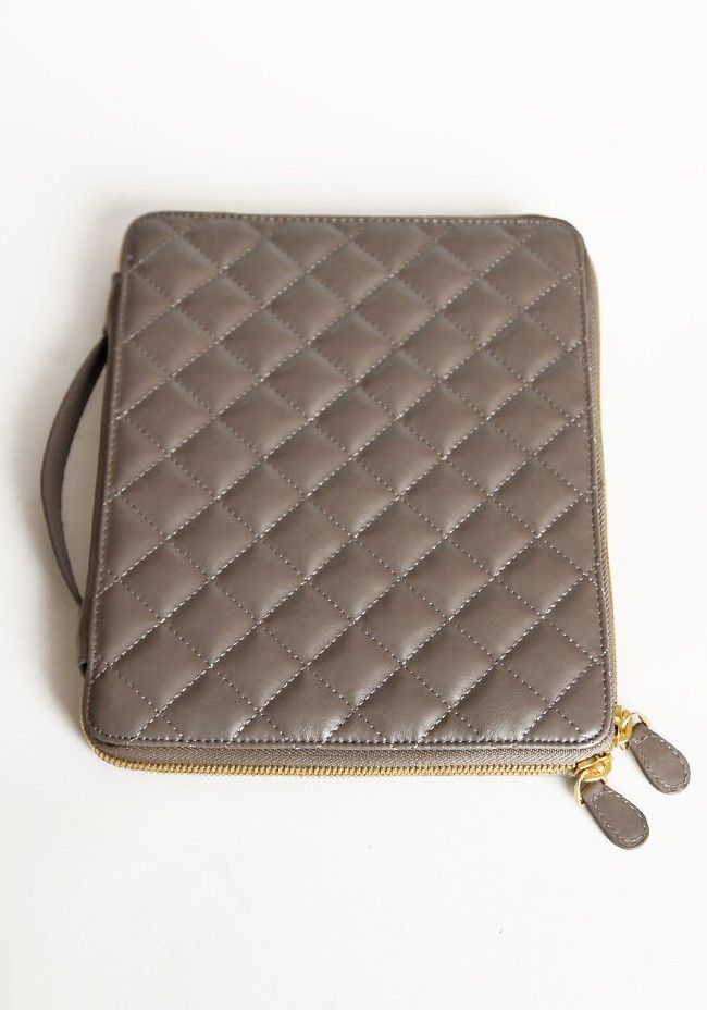 Jeane Catherine Quilted IPad Case