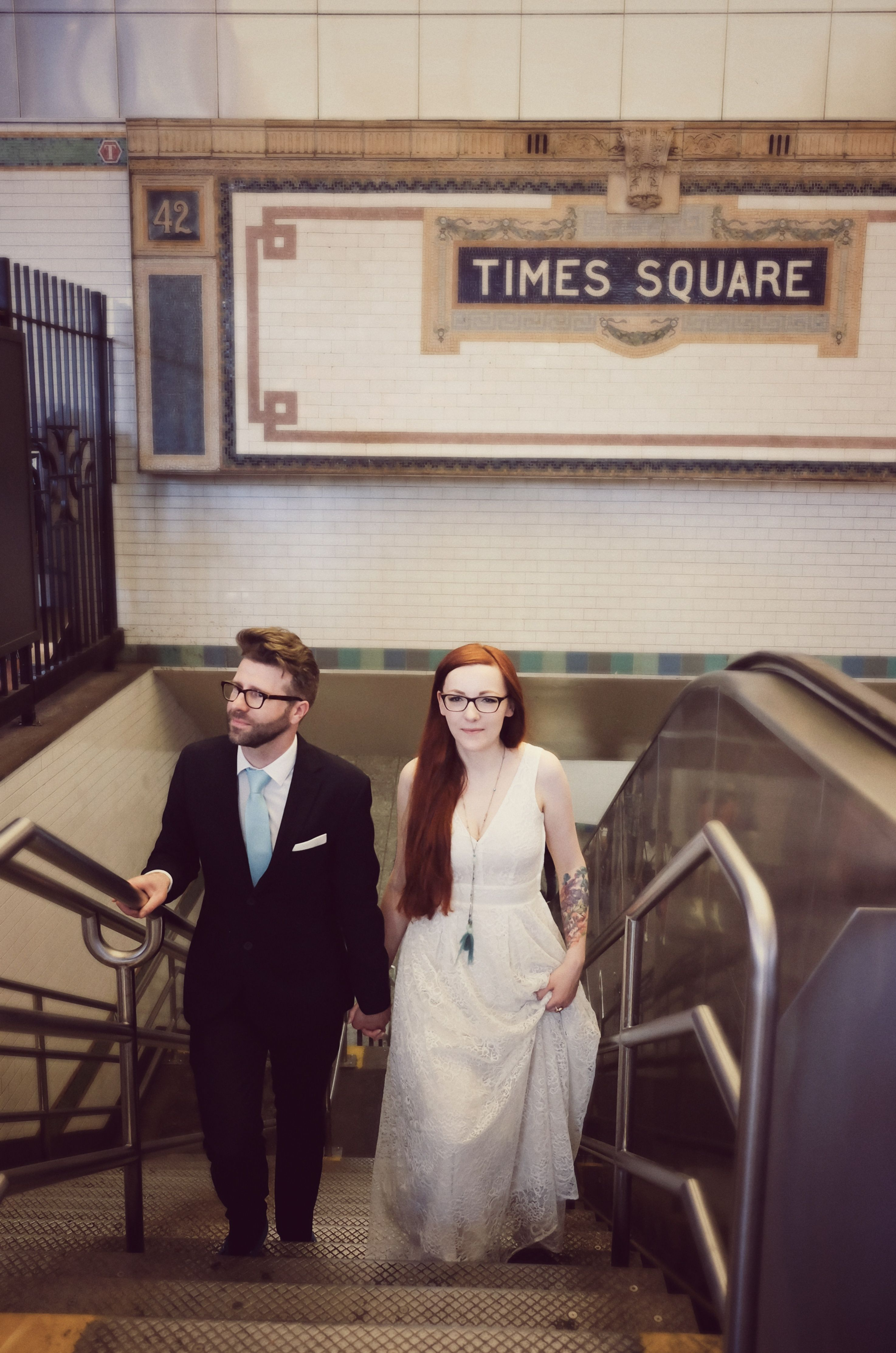 Our Spontaneous Wedding Session In Nyc There Was No