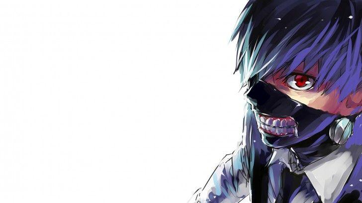 kaneki ken tokyo ghoul anime hd red eye mask tokyo ghoul