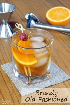 Brandy Old Fashioned Drink