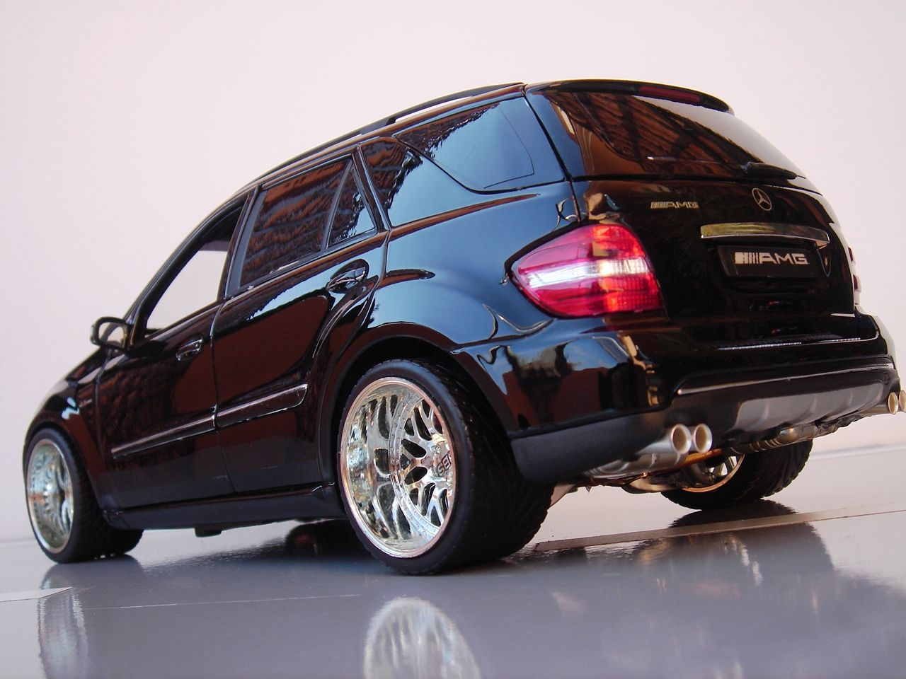 1 18 mb ml amg tuning 1 18 tuning jp tuners pinterest. Black Bedroom Furniture Sets. Home Design Ideas