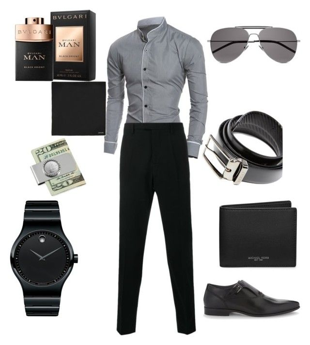 """Untitled #113"" by pentecostal-apostolicfashion2016 on Polyvore featuring Movado, Gucci, ALDO, Michael Kors, HUGO, American Coin Treasures, Yves Saint Laurent, men's fashion and menswear"