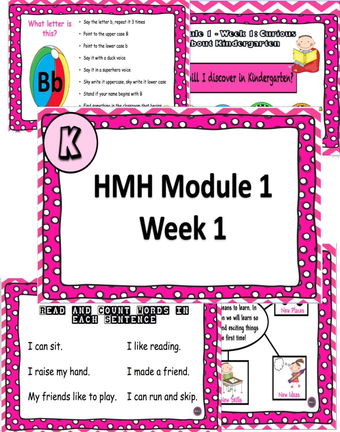 Into Reading Hmh Powerpoint Lesson Kinder Module 1 Week 1
