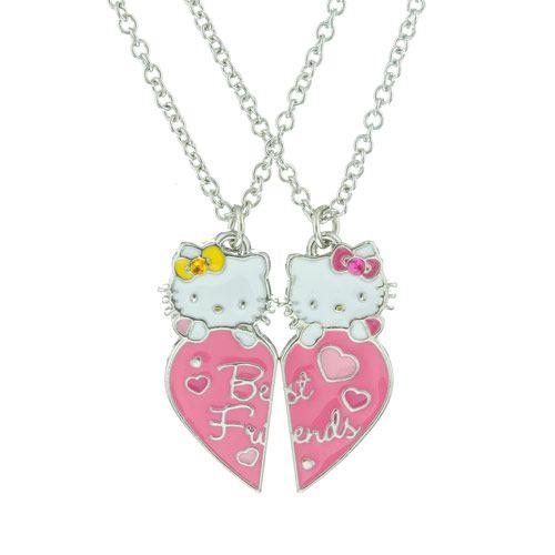 Pink Sanrio Hello Kitty  Anime Necklace Girls  90's