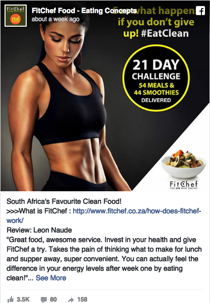 177 275 Facebook Ad Examples From Every Major Industry Facebook Ads Examples Ads Health Fitness