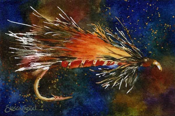 African Hair Shop Bern Llama Streamer Fly Lure Fish Art South African Art