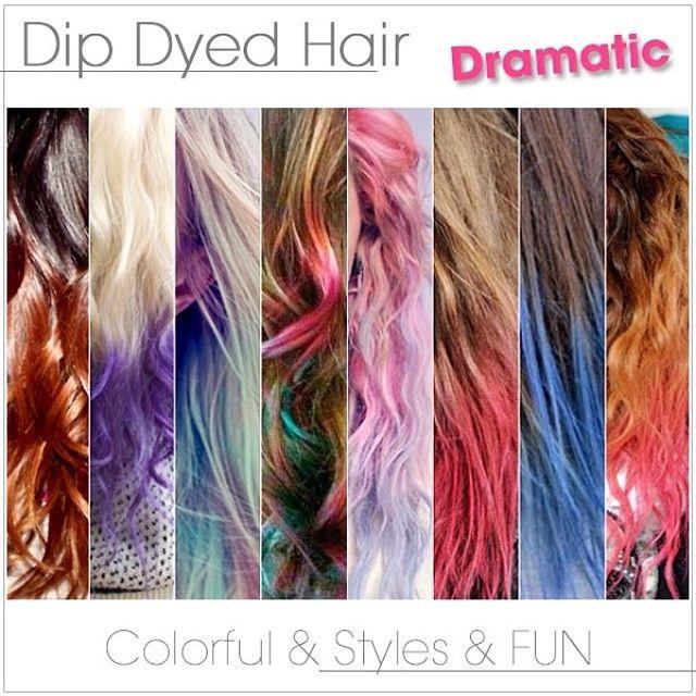 2014 Dip Dye Hair Colors Dip Dyed Hair Hair Color 2014 And Dye Hair