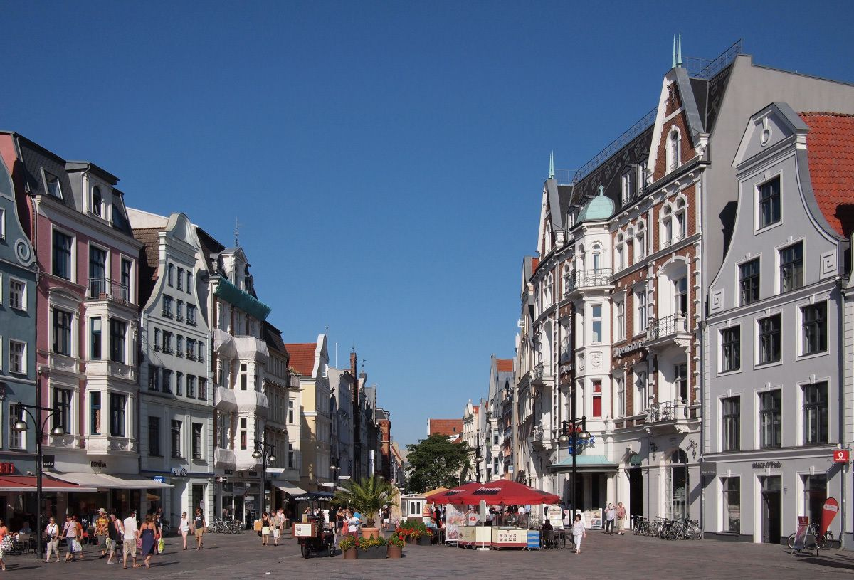 Rostock Shopping Hanseatic City Of Rostock German Architecture Forum Looking At
