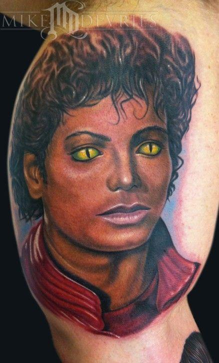 Michael painting