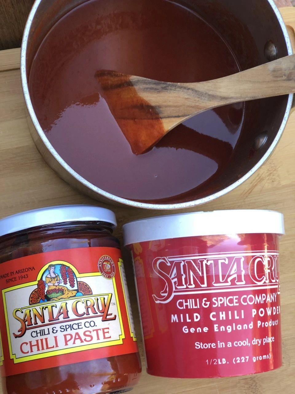 Santa Cruz Enchilada Sauces, Paste or Powder in 2020