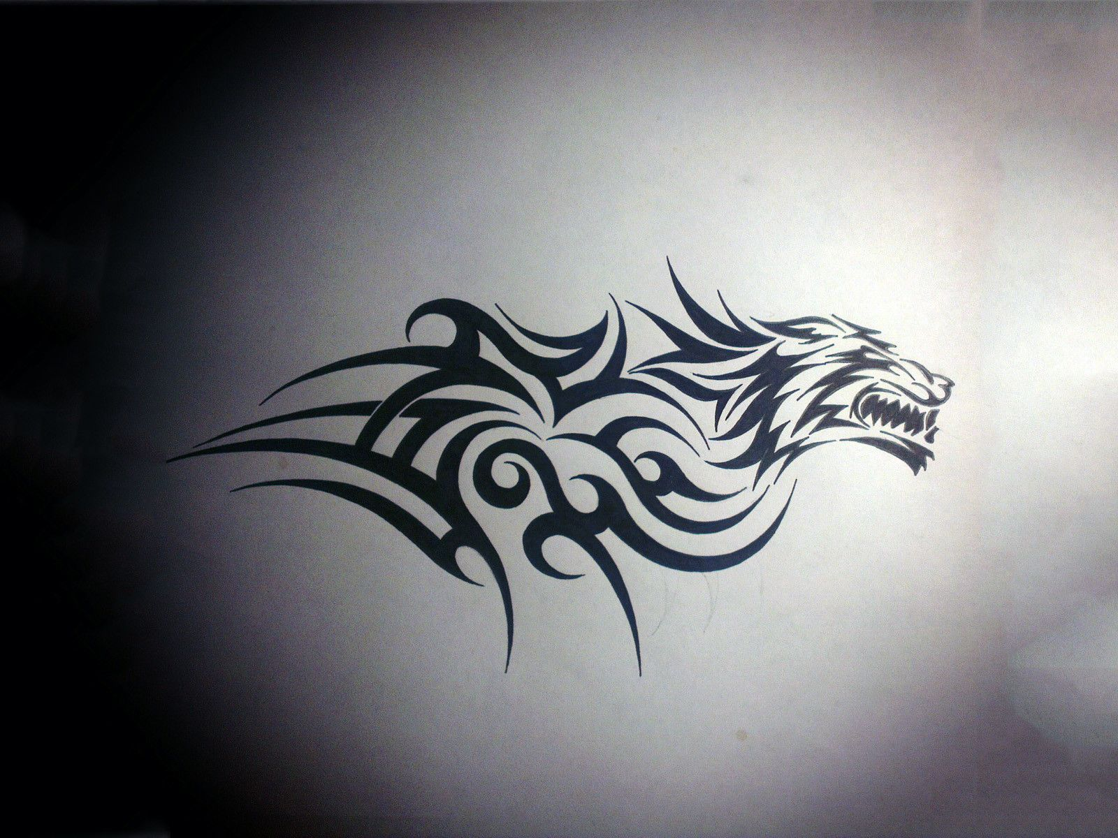 Tiger Tribal Tattoo Design Wallpaper Designs