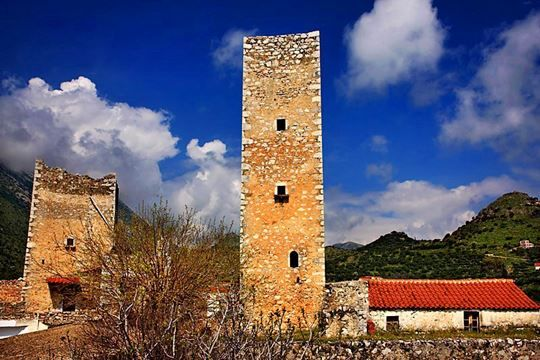 Pandeleakos Tower Mani Lakonia Peloponnese