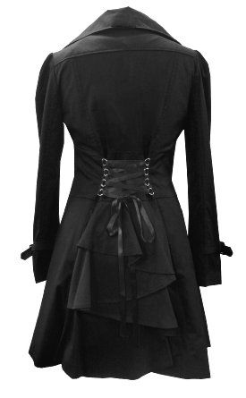 classic cotton victorian gothic steam punk vampire corset