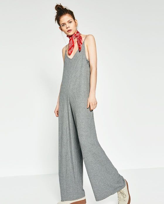 1e253443020 RIBBED JUMPSUIT - Available in more colours