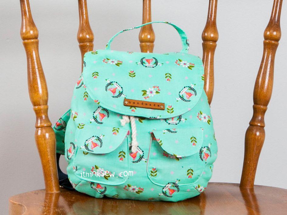 Blake Toddler Backpack PDF Pattern - New Release Sale! % Off!